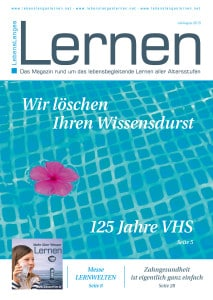 Magazin LebensLanges Lernen Juli/August 2015