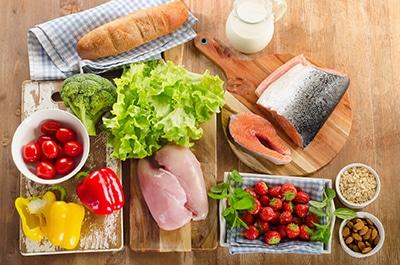 Gesunde Ernährung an Arbeitsplatz