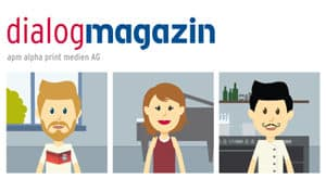 Dialogmagazin – die crossmediale Publishing-Lösung von apm