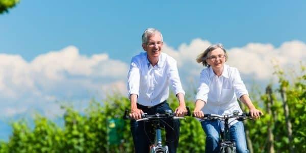 Radfahren ist gelenkschonend für Arthrosepatienten