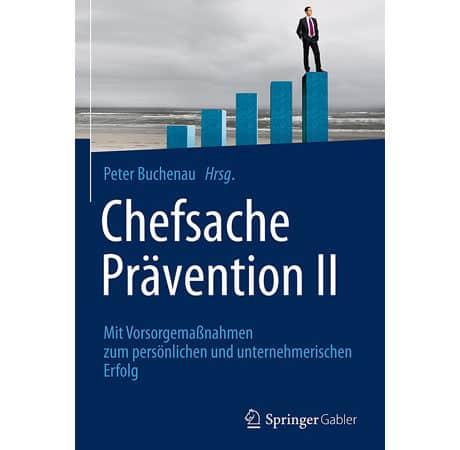 """Blitzverlosung: Buchtitel """"Chefsache Prävention II"""""""