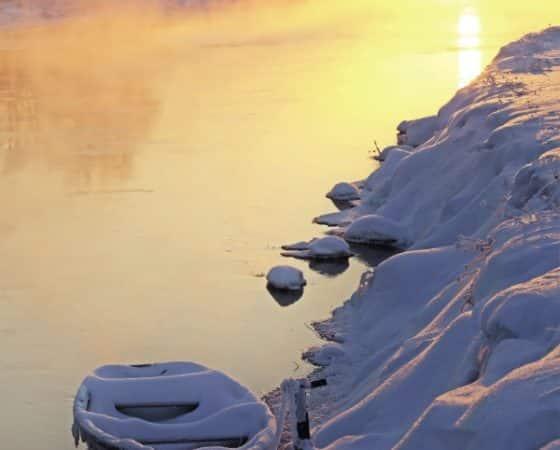 Gedicht im Winter: Heller Morgen