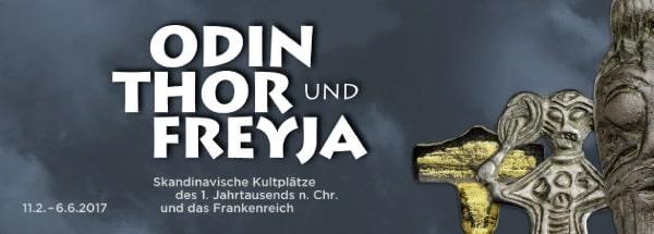 Archäologisches Museum: Odin, Thor und Freya