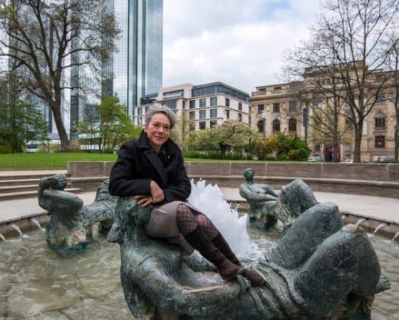 Kulturdezernentin Ina Hartwig eröffnet Brunnensaison