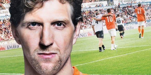 """Champions for Charity"": Dirk Nowitzki kickt wieder in Mainz"