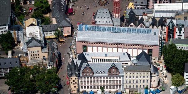 Museumsquartier des neuen Historischen Museums Frankfurt