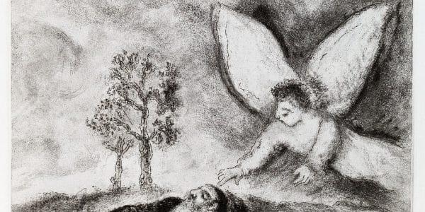 """Ikonen-Museum: Ausstellung """"Chagalls Propheten. Die Chagall-Bibel und Ikonen"""""""