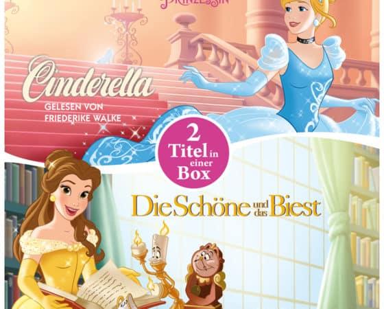 Verlosung: Disney-Hörbücher mit Belle und Cinderella